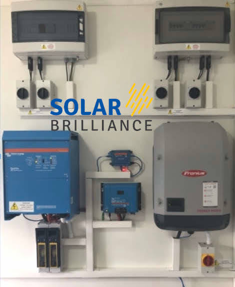 5kw Off Grid Solar Project Components